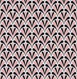 Vectorart deco naadloos patroon Geometrische Bloemen decoratieve textuur Royalty-vrije Stock Foto's