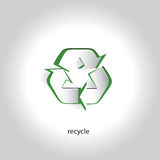 Vectorart paper icon design recycling-Symbool Stock Foto's