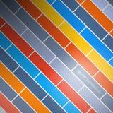 Vectorbaksteenachtergrond Stock Foto's