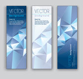 Vectorbanners. Abstracte Eps10-Achtergronden. stock illustratie