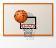 vectorbasketbalpunten Stock Afbeelding