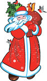 Vectorbeeld Santa Claus Royalty-vrije Stock Afbeelding