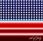 Vectorbeeld van Amerikaanse vlag Royalty-vrije Stock Foto's