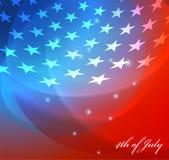 Vectorbeeld van Amerikaanse vlag Stock Foto