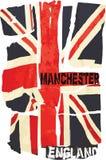Vectorbeeld van de vlag van Engeland Stock Afbeeldingen