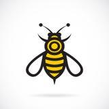 Vectorbeeld van een bijenontwerp stock illustratie