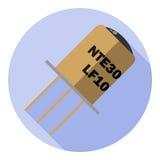 Vectorbeeld van een fototransistor Royalty-vrije Stock Afbeelding