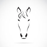 Vectorbeeld van een paardgezicht Stock Foto