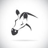 Vectorbeeld van een paardhoofd Royalty-vrije Stock Foto