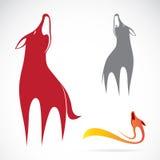 Vectorbeeld van een wolfsontwerp vector illustratie