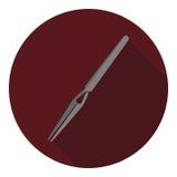 Vectorbeeld van pincet Royalty-vrije Stock Foto