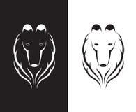 Vectorbeelden van de herdershondhoofd van Shetland vector illustratie
