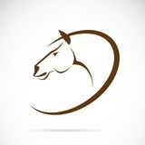 Vectorbeelden van paardontwerp Stock Foto
