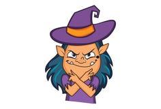 Vectorbeeldverhaalillustratie van Leuk Halloween royalty-vrije illustratie