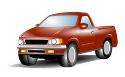 Vectorbestelwagen Stock Afbeelding