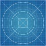 Vectorblauwdruktextuur als achtergrond Royalty-vrije Stock Afbeelding