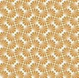 Vectorbloem Abstract Naadloos Patroon Art Deco Style Background Geometrische textuur Royalty-vrije Stock Foto