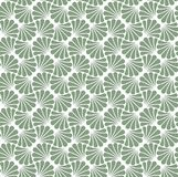 Vectorbloem Abstract Naadloos Patroon Art Deco Style Background Geometrische textuur Stock Foto's