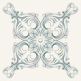 Vectorbloemmedaillon Royalty-vrije Stock Afbeeldingen