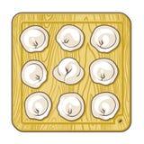 Vectorbollen Royalty-vrije Stock Afbeeldingen