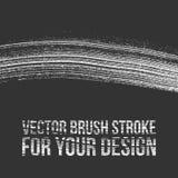 Vectorborstelslag voor Uw Ontwerp vector illustratie