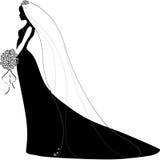 Vectorbruid Royalty-vrije Illustratie