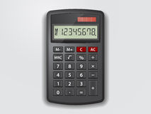 Vectorcalculator Stock Afbeelding