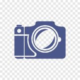 Vectorcamerapictogram Royalty-vrije Stock Fotografie