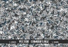 Vectorcamouflageachtergrond Royalty-vrije Stock Foto's