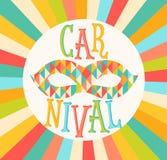 Vectorcarnaval funfair Royalty-vrije Stock Afbeelding