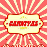 Vectorcarnaval-partijachtergrond Stock Foto