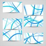 Vectordie zaken-kaart voor uw ontwerp wordt geplaatst Royalty-vrije Stock Fotografie