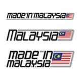Vectordieillustratie ` in Maleisië ` wordt gemaakt vector illustratie