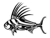 Vectored stam- tuppfisk Royaltyfria Foton