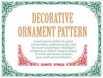 Vectorelementenbloemen voor ontwerp, die tot grenzen, kaders en achtergronden leiden Drie inbegrepen borstels Royalty-vrije Stock Foto