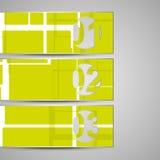 Vectorenvelop voor uw ontwerp Stock Foto