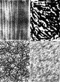 Vectores abstractos del fondo Foto de archivo