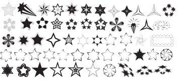 Vectores de las estrellas Fotos de archivo libres de regalías