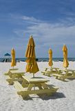 Vectores y paraguas de comida campestre Fotos de archivo