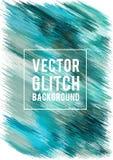 Vectorglitch achtergrond Royalty-vrije Stock Foto's
