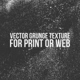 Vectorgrunge-Textuur voor Druk of Web stock illustratie