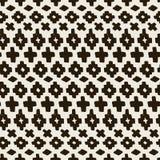 Vectorhand getrokken naadloos stammenpatroon vector illustratie