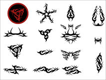 Vectorial art tattoo. Vectorial drawings that can be resized if needed. Additional Illustrator format available Royalty Free Stock Image