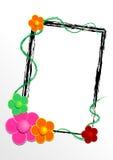 Vectorial bloempatroon Stock Afbeeldingen