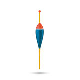 Vectorial fishing float Royalty Free Stock Photography