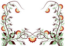 Vectorial flower pattern Stock Photos