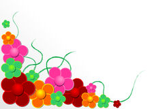 Vectorial Flower Pattern Stock Photo