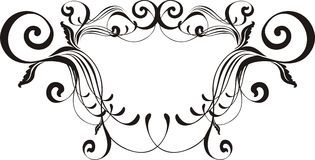 Vectorial ornamental frame Royalty Free Stock Photography