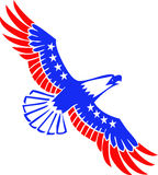 Vectorial U.S. Eagle Royalty Free Stock Images