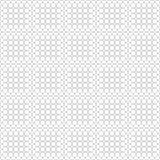 Vectorillustratie abstract naadloos beeld die als achtergrond uit witte ballen met een grijze gradiënt bestaan Stock Foto